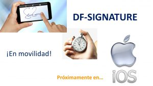 Signature en movilidad. IOS