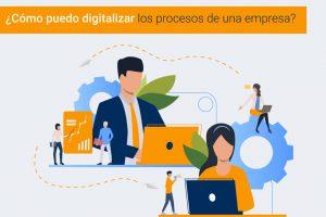 Digitalización de los procesos de una empresa
