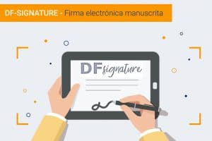 DF-SIGNATURE Firma manuscrita