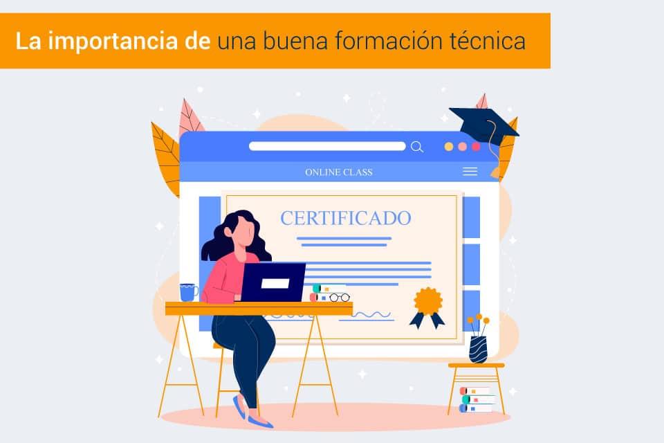 Formación en gestión documental. La certificación técnica