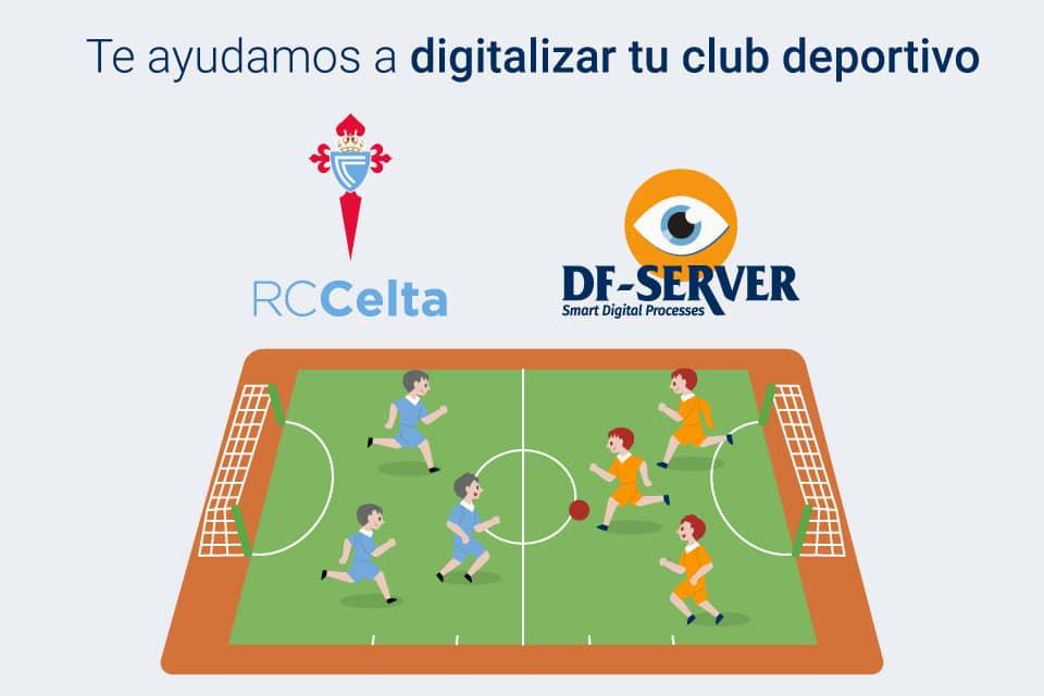 DF-SERVER entra en el Real Club CELTA de Vigo
