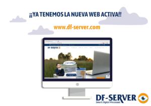Nueva página web de nuestro gestor documental DF-SERVER.