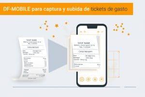pre contabilidad de los tickets de gasto con DF-MOBILE