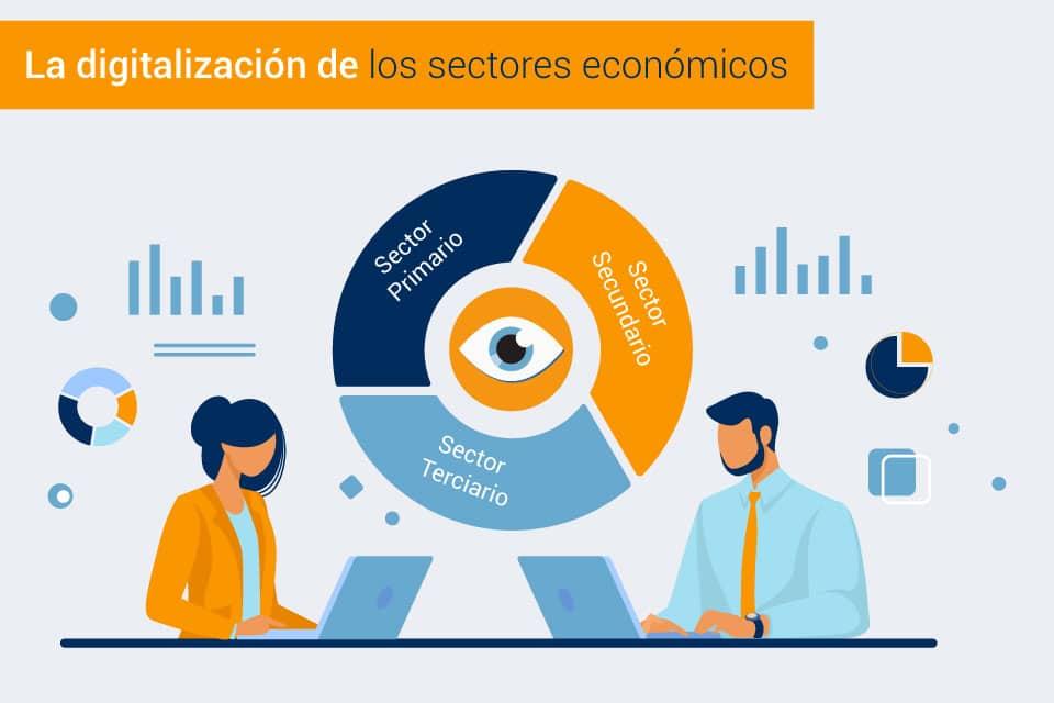 En este momento estás viendo Transformación digital de los sectores económicos en España