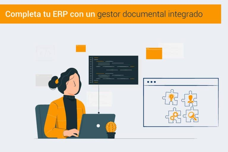 Integración del ERP con un gestor documental como DF-SERVER