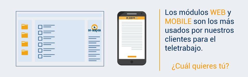 La importancia de la gestión documental a través del móvil y de plataformas web