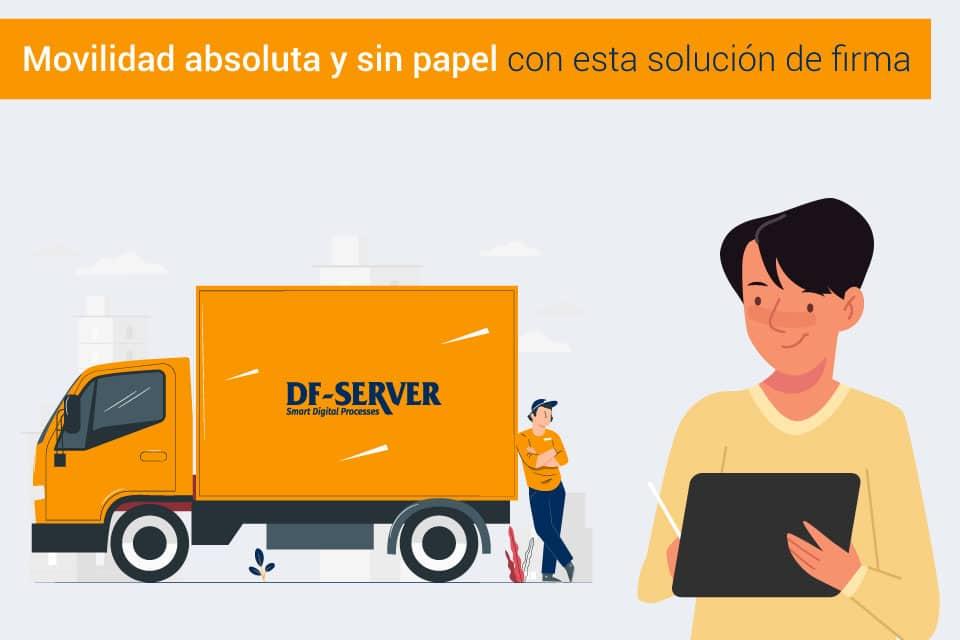Firma electrónica de albaranes para empresas de distribución y reparto