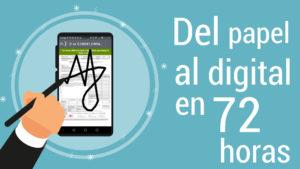 Firma digital en movilidad para distribuidores y repartidores