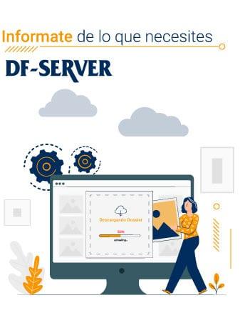 Tablet información sobre digitalización de empresas