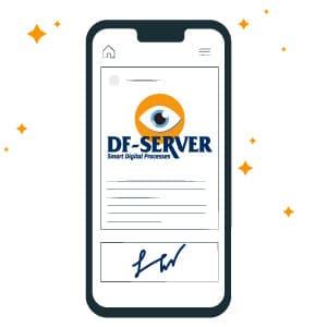 Tipos de firma electrónica que utiliza DF-SERVER