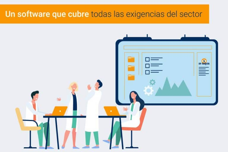¿DF-SERVER es considerado un software para la industria farmacéutica?