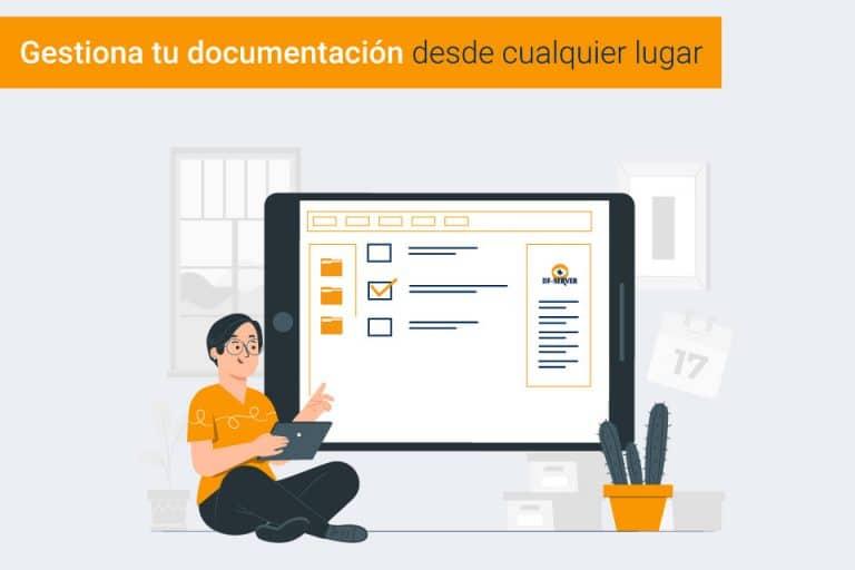 ¿Te interesa llevar la gestión documental  de tu empresa vía online?