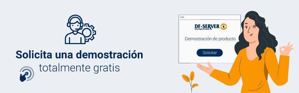 Banner solicita demostración gratuita