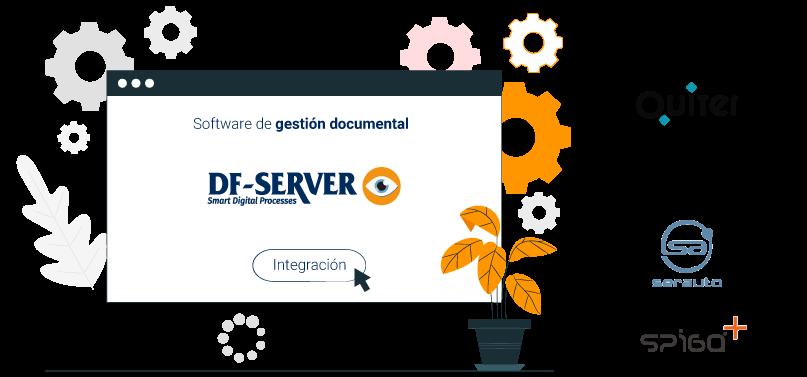 DF-SERVER está integrado con los principales DMS del mercado