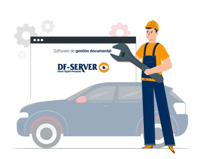 Digitalización del departamento de postventa con DF-SERVER evo
