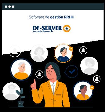 Tablet programa de gestión hotelera para digitalizar el departamento de RRHH