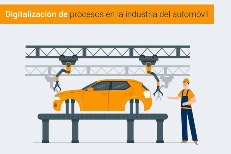 Lee más sobre el artículo Digitalización en la industria del automóvil | Tendencia para el 2021