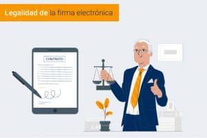 Legalidad de la firma electrónica